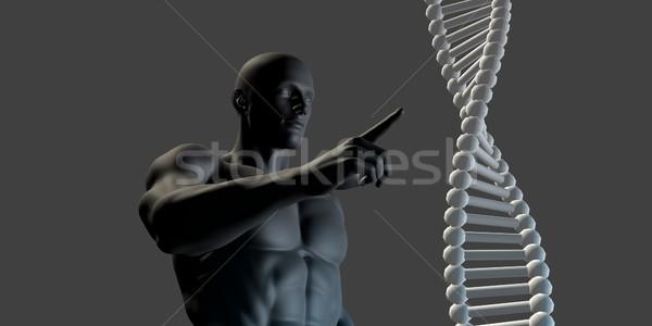 Futuristische gezondheidszorg toekomst medische arts abstract Stockfoto © kentoh