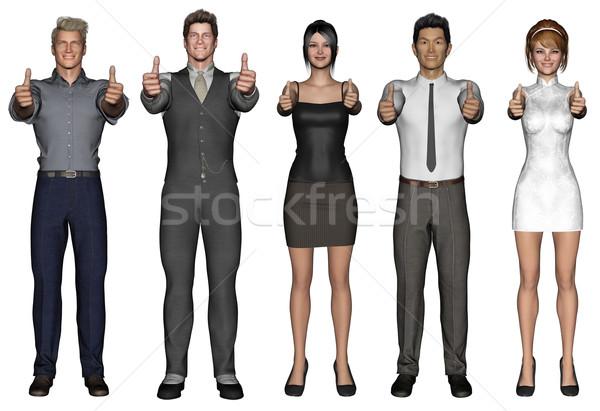 Business Team of Executives Stock photo © kentoh