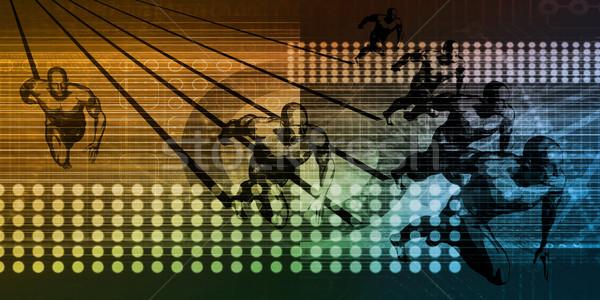 Sports Tech Innovation Stock photo © kentoh