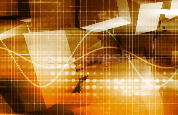Megfigyelés technológia digitális érzékeny adat háttér Stock fotó © kentoh