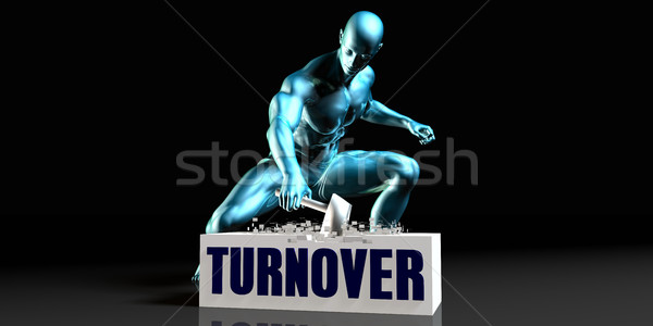 Get Rid of Turnover Stock photo © kentoh