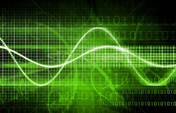 аннотация технологий фон мобильных программное цифровой Сток-фото © kentoh