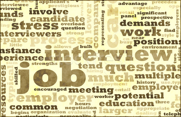 Job Interview Stock photo © kentoh