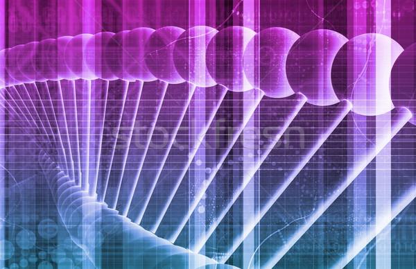 Gyógyszeripari kutatás adat tudomány művészet absztrakt Stock fotó © kentoh