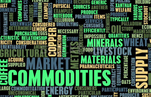Commodities Trading Stock photo © kentoh