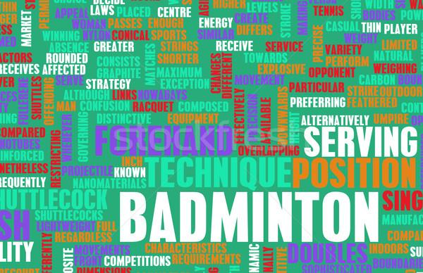 Badminton Stock photo © kentoh