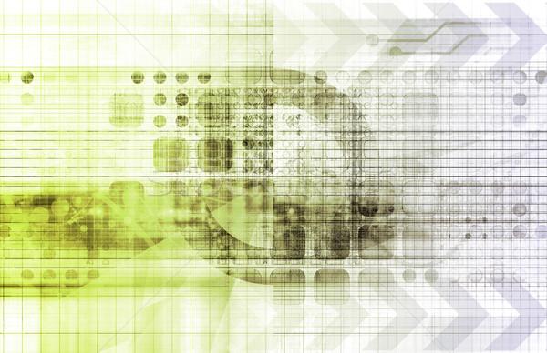 医療 業界 抽象的な 芸術 コンピュータ 医師 ストックフォト © kentoh