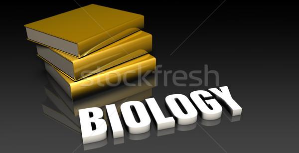 биологии образование книгах книга веб Сток-фото © kentoh