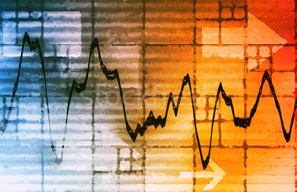Business Chart Graph Stock photo © kentoh