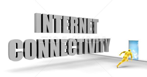 Internet connectiviteit snel track direct Stockfoto © kentoh