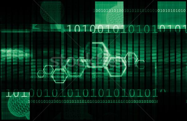 источник Код технологий белый бизнеса компьютер Сток-фото © kentoh