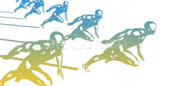 Sports Background Stock photo © kentoh