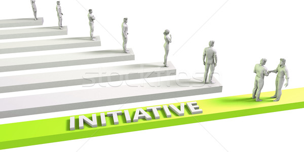 Initiative Stock photo © kentoh