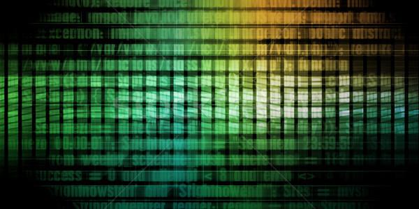 Programozás kód technológia absztrakt bemutató háló Stock fotó © kentoh