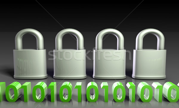 Secure Gateway Stock photo © kentoh