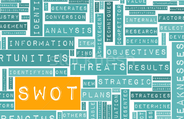 SWOT Stock photo © kentoh
