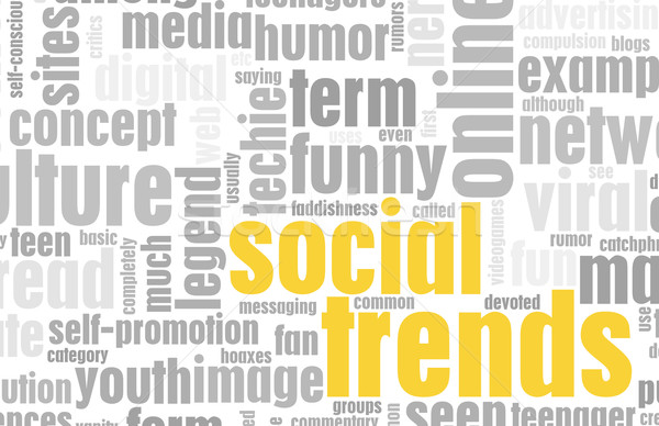 Social Trends Stock photo © kentoh