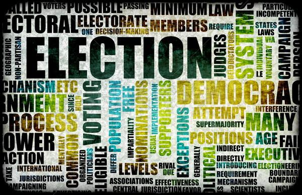 élection processus campagne art robe libre Photo stock © kentoh