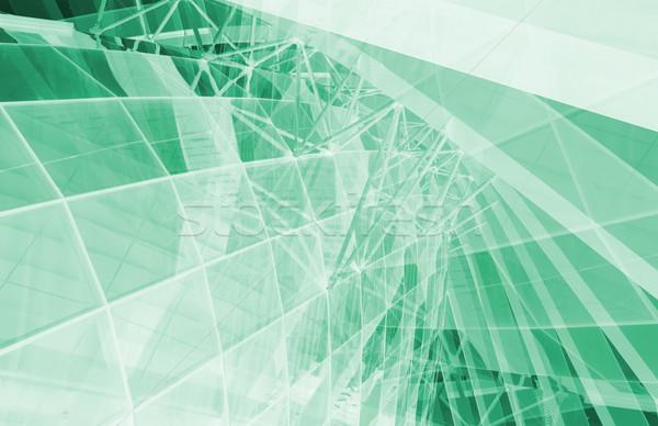 Negócio genética dna pesquisa construção tecnologia Foto stock © kentoh