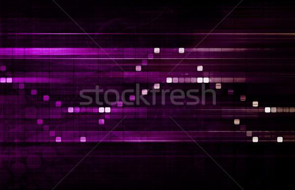 Data Processing Stock photo © kentoh