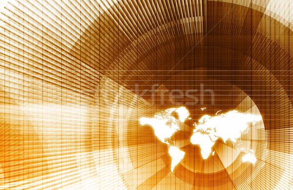 Worldwide Tracking Stock photo © kentoh