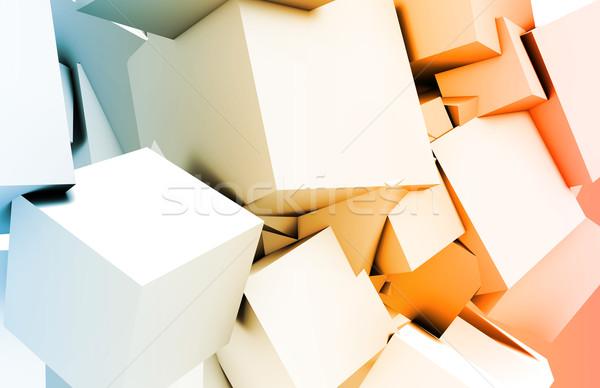 Tecnologia da informação dados rede computador fundo software Foto stock © kentoh