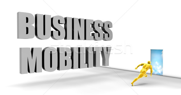 Business mobiliteit snel track direct Stockfoto © kentoh