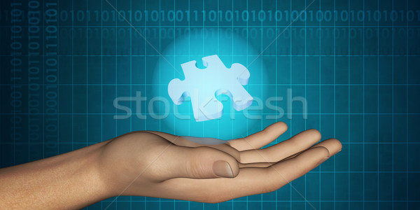 Technology Solution Stock photo © kentoh