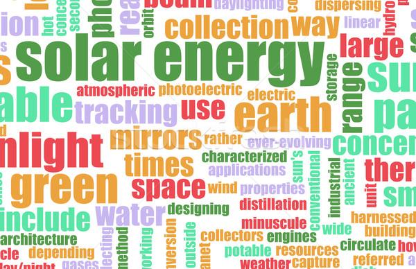 Solar Energy Stock photo © kentoh