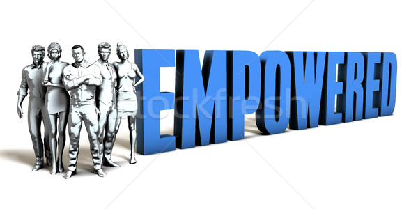 Empowered Business Concept Stock photo © kentoh