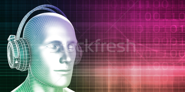 Digital Music Stock photo © kentoh