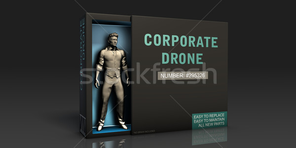 Corporate Drone Stock photo © kentoh