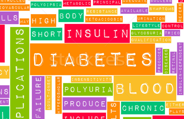 Diabetes Stock photo © kentoh