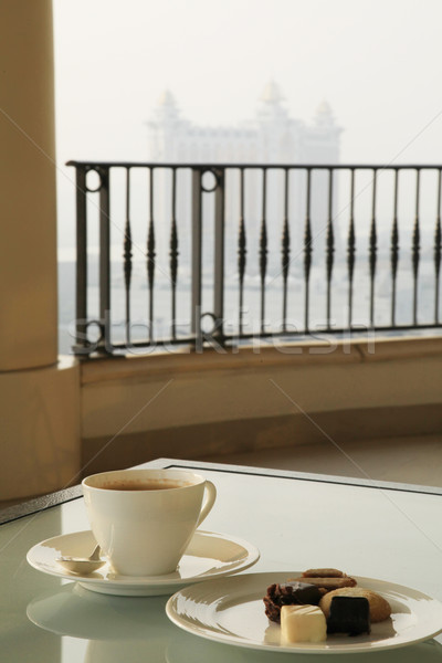 Coffee with a View Stock photo © kentoh