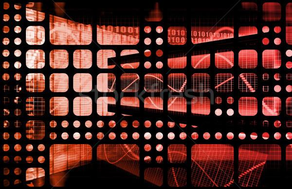 Presentation Abstract Stock photo © kentoh