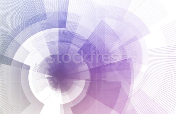 Futuristic User Interface Stock photo © kentoh