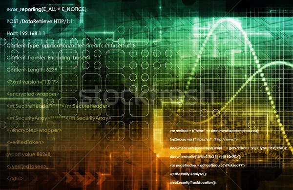 Stock photo: Internet Concept Background