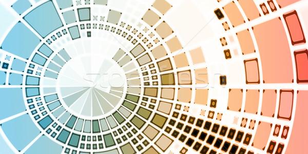 Resumen ciencia médicos vida datos químicos Foto stock © kentoh