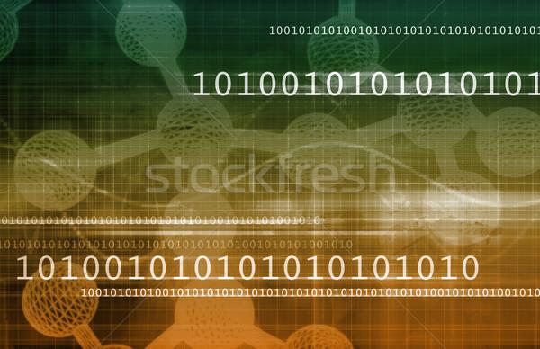 Сток-фото: бизнеса · генетика · ДНК · исследований · аннотация · технологий