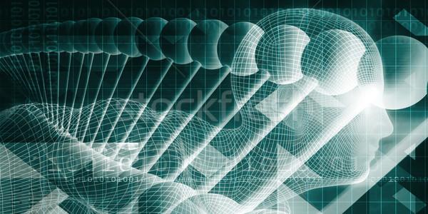 Wetenschap technologie innovatie ontwerp achtergrond netwerk Stockfoto © kentoh