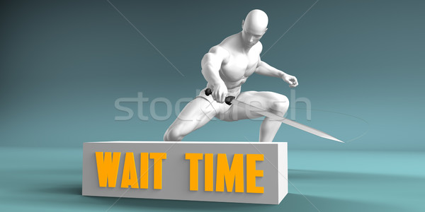 Cutting Wait Time Stock photo © kentoh