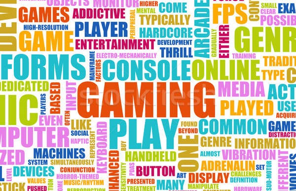 Gaming Stock photo © kentoh