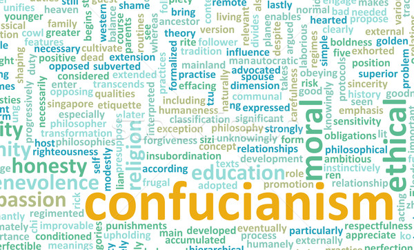 Confucianism Stock photo © kentoh