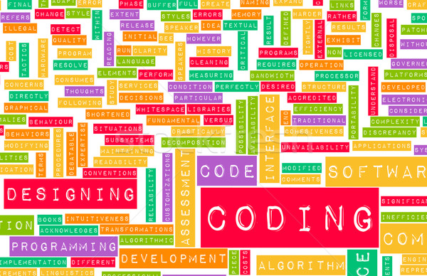 Coding Stock photo © kentoh