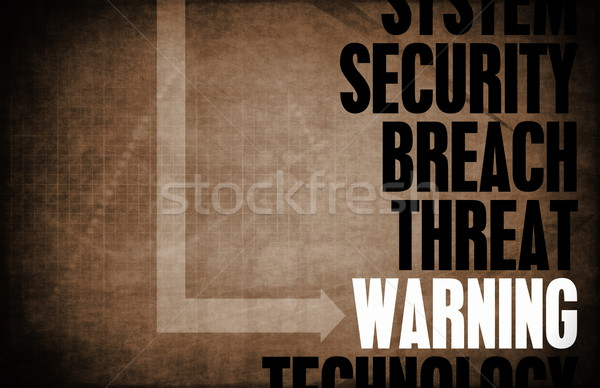 Warning Stock photo © kentoh
