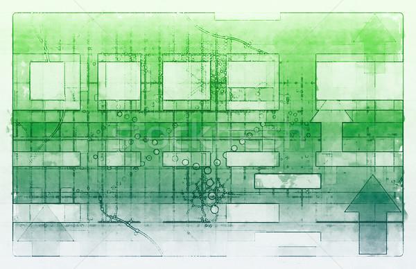научное исследование диаграммы медицинской продажи искусства аннотация Сток-фото © kentoh
