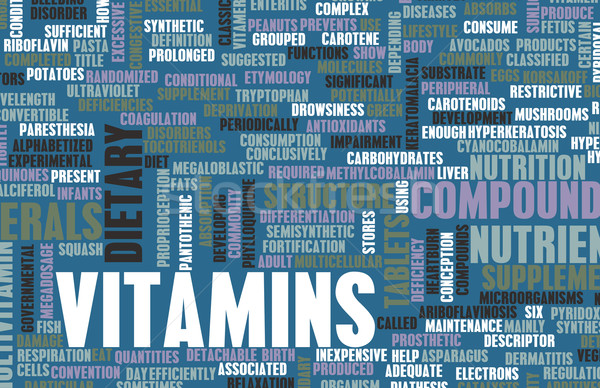 Vitamins Stock photo © kentoh