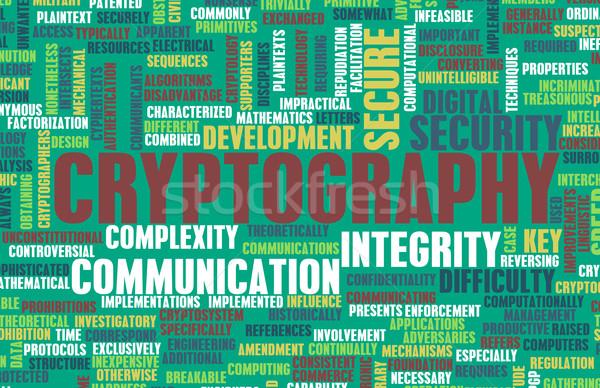 Cryptography Stock photo © kentoh