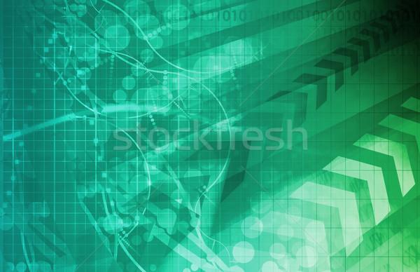 Biyoloji modern tıbbi teknoloji soyut arka plan Stok fotoğraf © kentoh