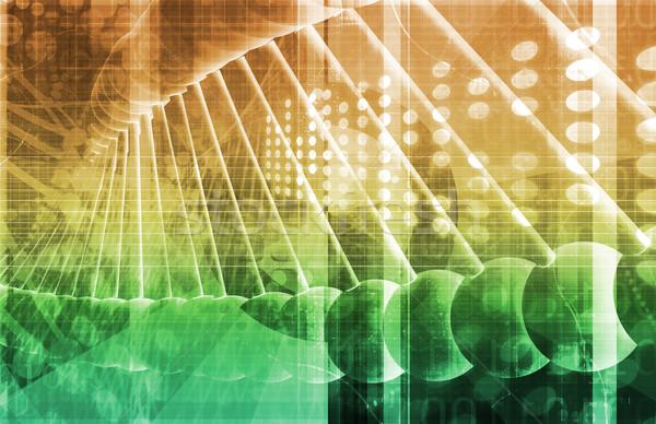 DNA bilim soyut teknoloji arka plan Stok fotoğraf © kentoh